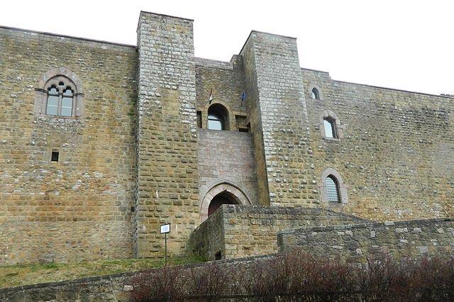 Castello di Lagopesole: Ingresso