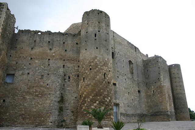 I Castelli della Basilicata: Miglionico - Castello del Malconsiglio