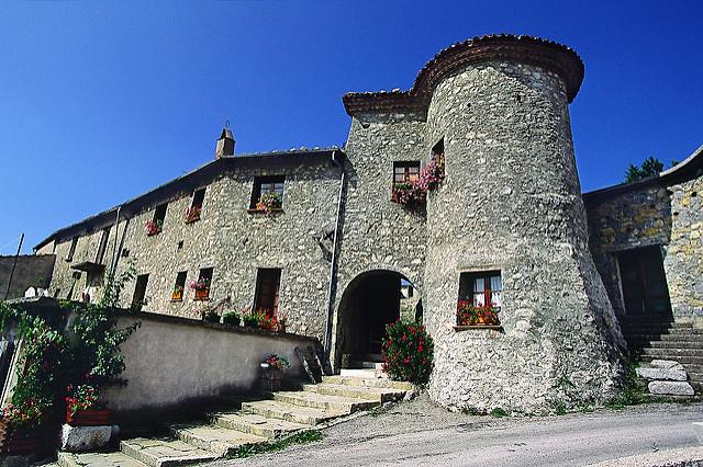 I Castelli Della Basilicata: Marsicovetere Castello