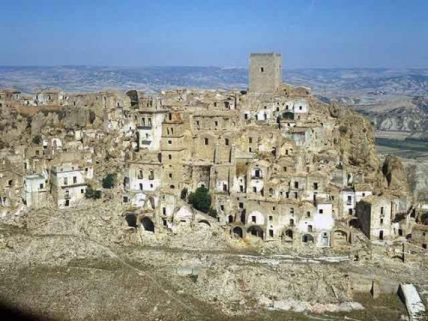 Craco Ghost Town: Old Town