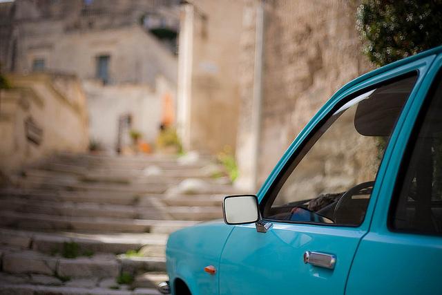 Basilicata in auto